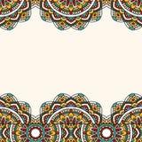 Oriental pattern with mandala.. Royalty Free Stock Image