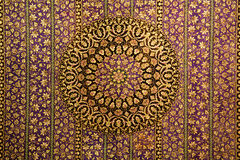 Oriental pattern ornament for carpet.  Stock Photography