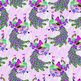 Oriental pattern022 Stock Photos