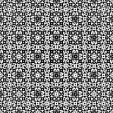 Oriental pattern. Traditional ornamental pattern. Oriental design. Vector monochrome seamless pattern. Abstract ornamental texture, repeat geometric tiles Royalty Free Stock Photos