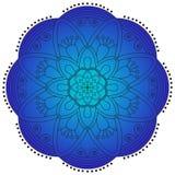 Oriental pattern. Traditional round coloring ornament. Mandala. Stock Photo