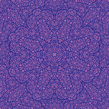 Oriental pattern. Vector seamless purple pattern in oriental style Stock Photography