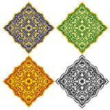 Oriental patterns-1 Royalty Free Stock Photos