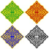Oriental patterns-1 Stock Images