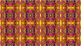Oriental patterns symmetrical parameters Royalty Free Stock Photography