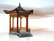Oriental pavilion Stock Image
