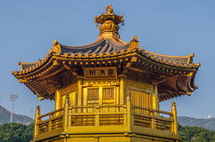 The oriental pavilion of absolute perfection in Nan Lian Garden, Stock Photos