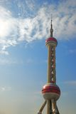 Oriental Pearl Radio tower Royalty Free Stock Photo