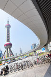 The Oriental Pearl Radio and TV Tower Stock Image
