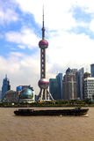 Oriental Pearl Radio & TV Tower Royalty Free Stock Images