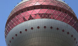 Oriental pearl tower Stock Images