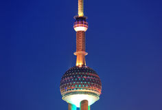 Oriental Pearl Tower Royalty Free Stock Images
