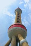 Oriental Pearl tower Royalty Free Stock Photography