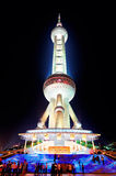 Oriental Pearl Tower closeup Royalty Free Stock Photography