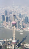 Oriental Pearl Tower Stock Photo