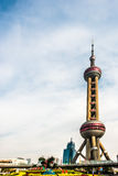 Oriental Pearl Tower pudong Shanghai China Royalty Free Stock Photography