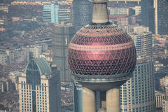Oriental Pearl Tower, Shanghai Stock Images