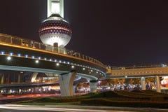 Oriental Pearl Tower, Shanghai Stock Photo