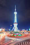 Oriental pearl tower in Shanghai Stock Images
