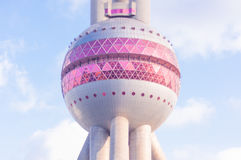 Oriental Pearl Tower. In Shanghai China Royalty Free Stock Photos