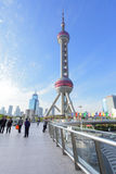 The Oriental Pearl Tower Stock Photos