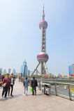 Oriental Pearl Tower Royalty Free Stock Image