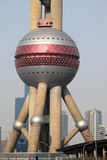 Oriental Pearl Tower in Shanghai Stock Image