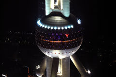 Oriental Pearl Tower, Shanghai Royalty Free Stock Images