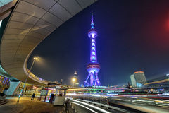Oriental Pearl Tower, Shanghai Royalty Free Stock Photos