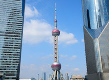 Oriental Pearl Tower shanghai Royalty Free Stock Photos