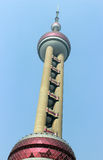 Oriental Pearl Tower skyscrapers, SHANGHAI, CHINA Stock Photo