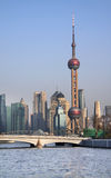 The Oriental Pearl TV Tower. 2010 Shanghai World Expo Stock Images