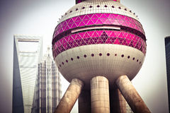 Oriental Pearl TV Tower Royalty Free Stock Images
