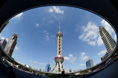 Oriental Pearl TV Tower Stock Image