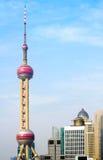 oriental perełkowy Shanghai basztowy tv Fotografia Stock