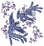 Oriental phoenix Royalty Free Stock Image