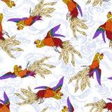 Oriental phoenix pattern Royalty Free Stock Photography