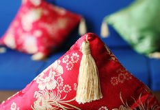 Oriental pillow Royalty Free Stock Images