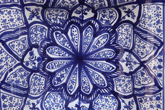 Oriental pottery Stock Photos