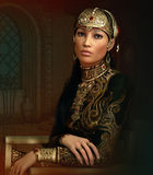 Oriental Princess, 3d CG Royalty Free Stock Photos