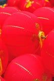 Oriental red lanterns Stock Photo