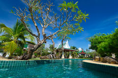 Oriental resort scenery in Thailand Royalty Free Stock Photos