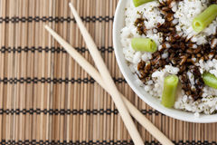 Oriental rice Stock Image