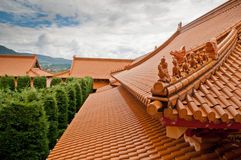 Oriental roof Stock Images
