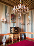 Oriental room Ajuda Palace Royalty Free Stock Image