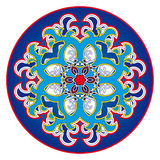 Oriental rosette pattern Royalty Free Stock Photos