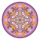 Oriental rosette pattern Royalty Free Stock Photography