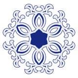 Oriental rosette pattern Stock Images