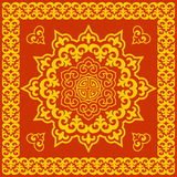Oriental round pattern Stock Photos