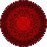 Oriental rug. Vector illustration of oriental rug Stock Photos
